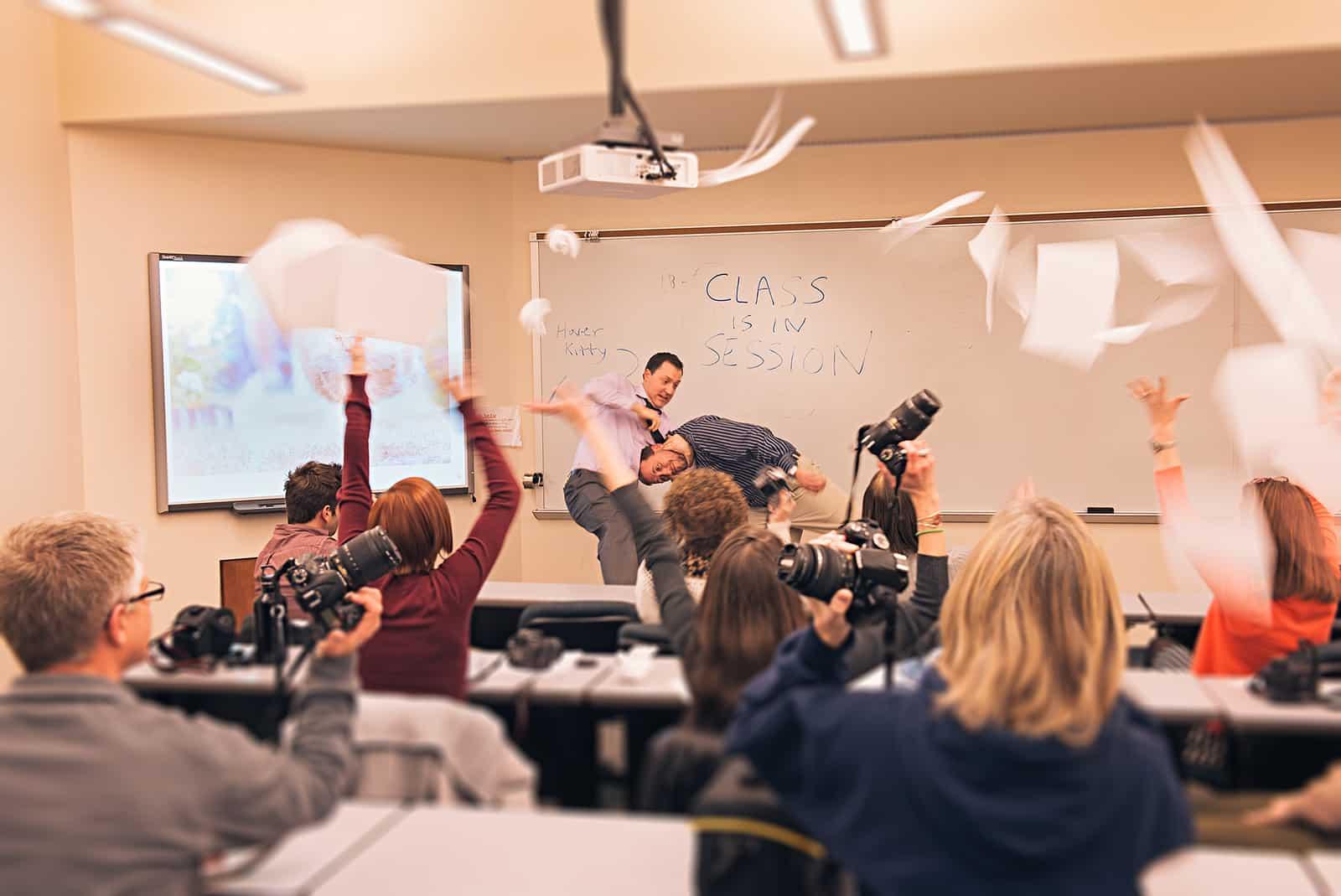 How Teachers and Photographers are Similar