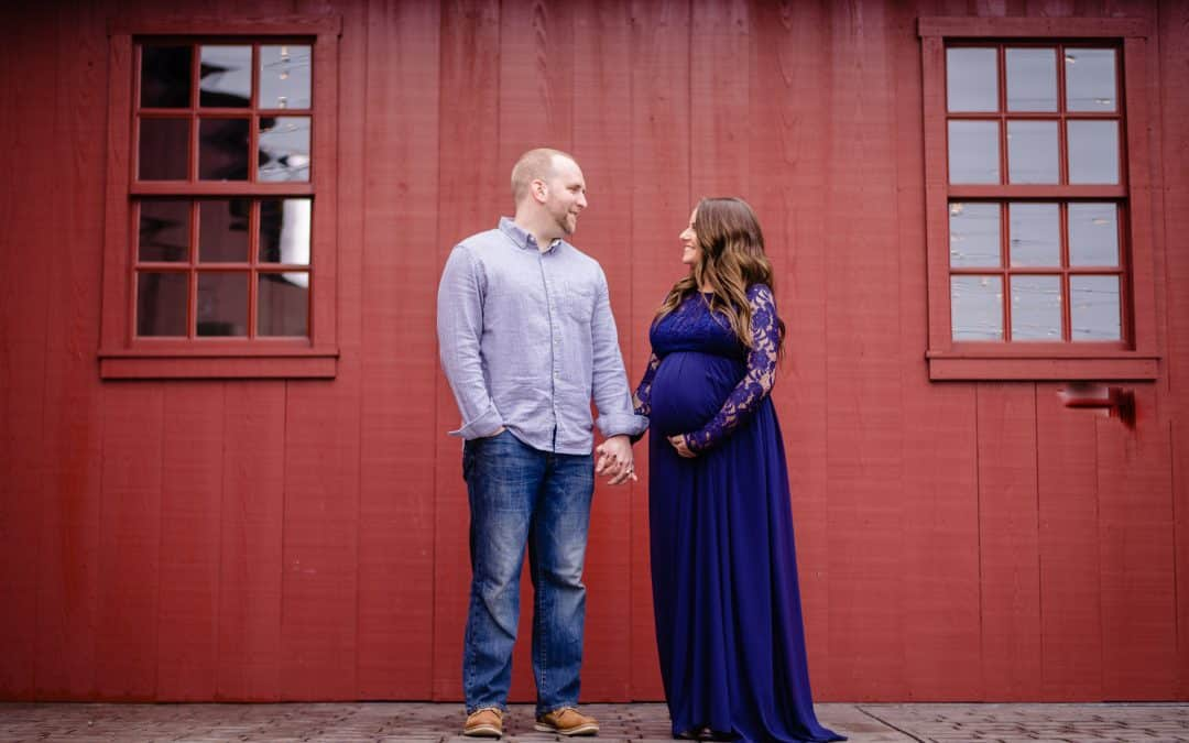 Erin + Ryan / The Farm at Eagle's Ridge Maternity