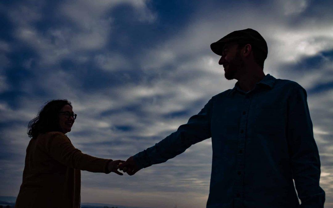 Michele + Tim / Columcille Megalith Park Engagement
