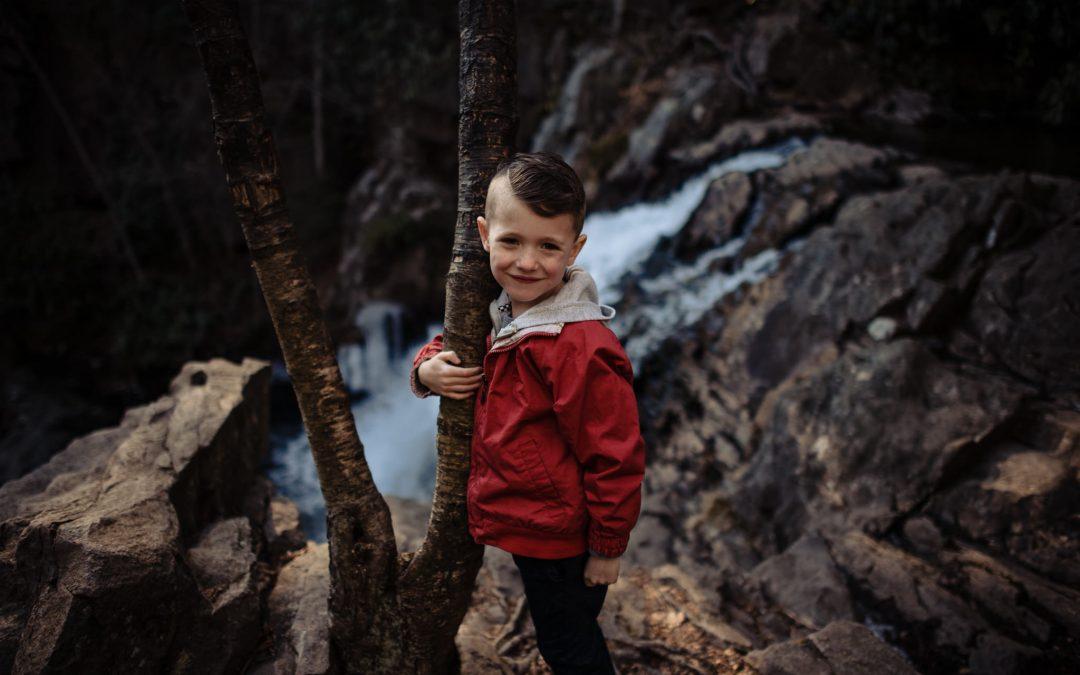 Hawk Falls | Family Photography