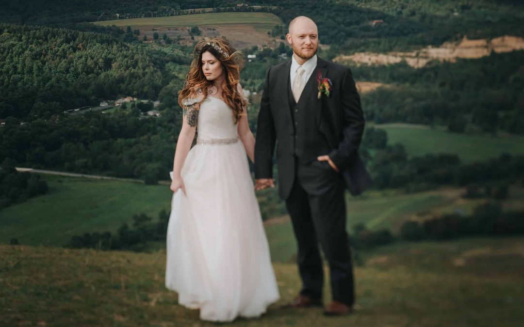 Bri + Bruce / Blue Mountain Resort Wedding